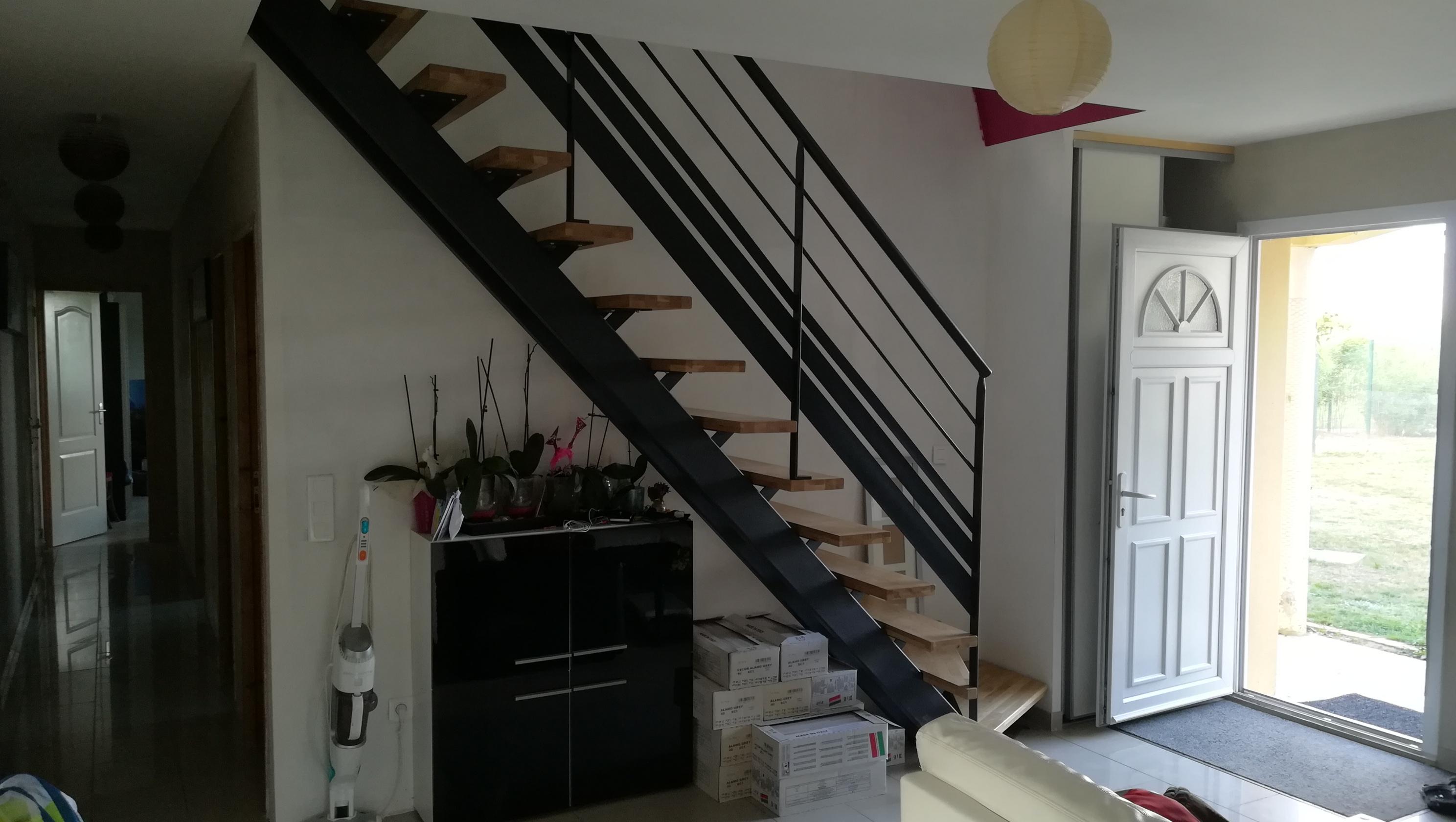 Construire un escalier acier, comment fer ?