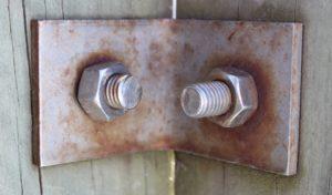 Exemple de corrosion galvanique