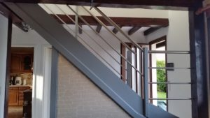 garde corps inox pour escalier intérieur