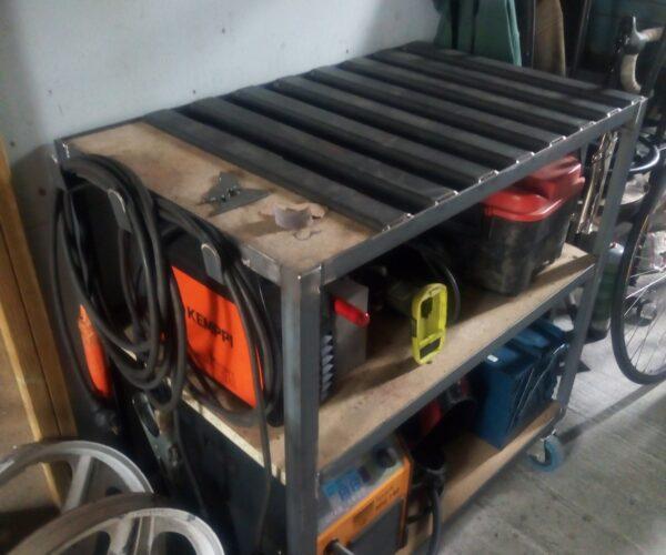 Comment fabriquer une table de soudure ?